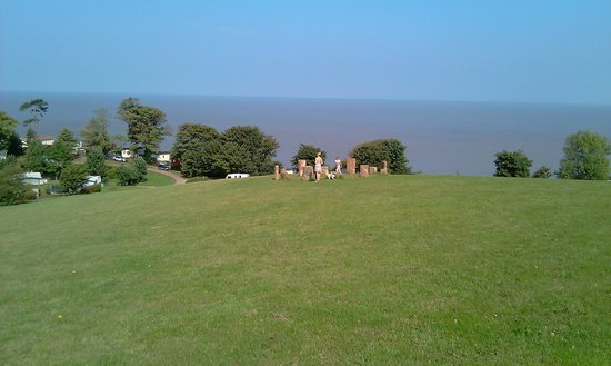 Home Farm Holiday Centre : View to the sea