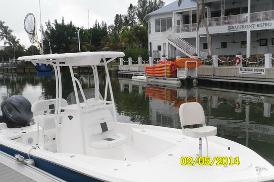Paradise Charters: Bow view