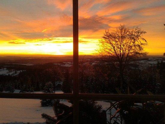 Benecko, República Checa: Sunset