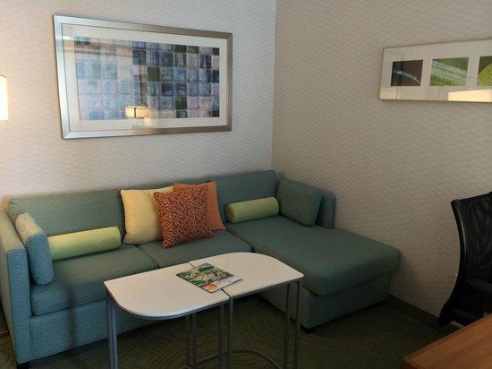 SpringHill Suites Irvine John Wayne Airport/Orange County: Sitting area