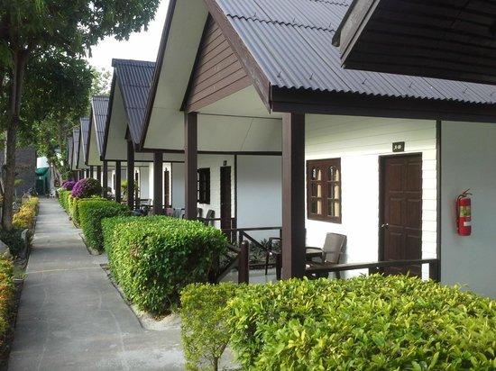 Phi Phi Andaman Legacy: les bungalows