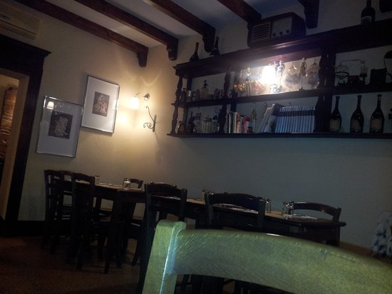Ristorante Taverna Mascarella: bellissima tavernetta