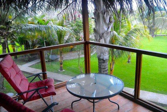 El Sauce Resort : Y lo primero que harás al despertar es asomarte al balcón y deleitarte con esta hermosa vista.