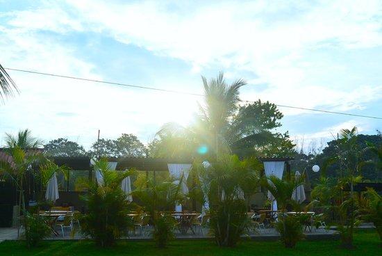 El Sauce Resort : Área del restaurante.