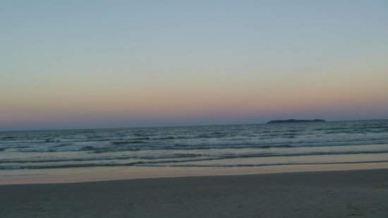 Canto Grande Beach: atardecer en canto grande