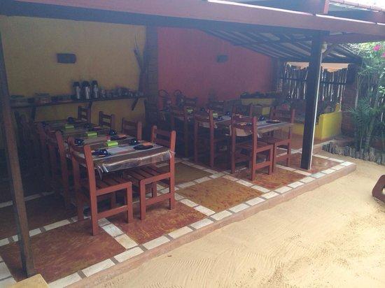 Pousada Ibiscus: Local para café da manhã