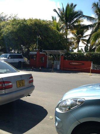 Hotel Tamarin : Devant l'hôtel
