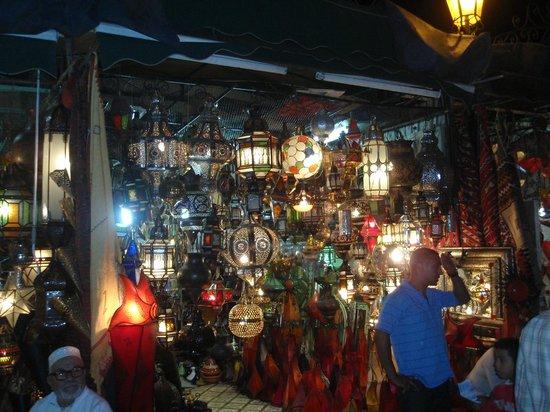 Riad Linda: The Medina at night