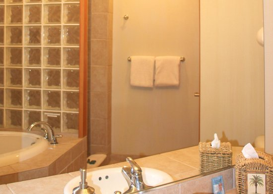 San Juan Suites : Bathroom - The Consevatory - Pet Friendly