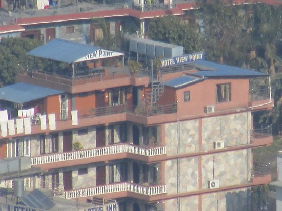 Hotel View Point: taken from the bhudist stupa