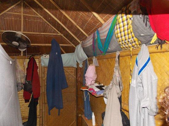 Kalume Kradan Village : struttura anti vento....