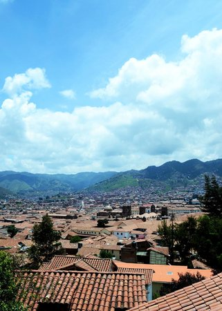 Samay Wasi Youth Hostels Cusco: vista desde el cuarto