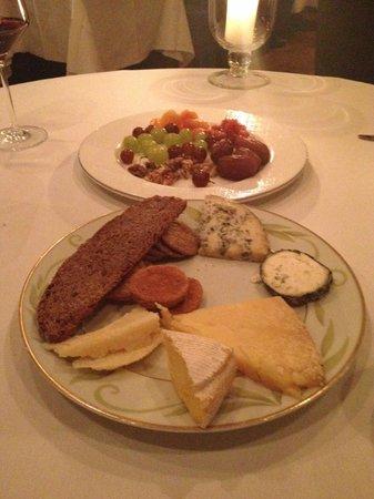 Corrigan's Mayfair : cheese course