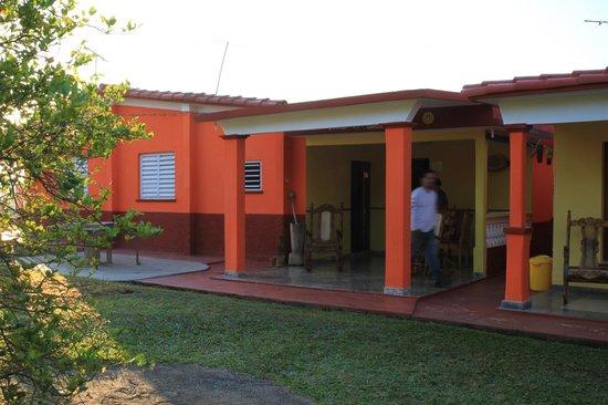 Villa El Habano: La terrasse de notre chambre