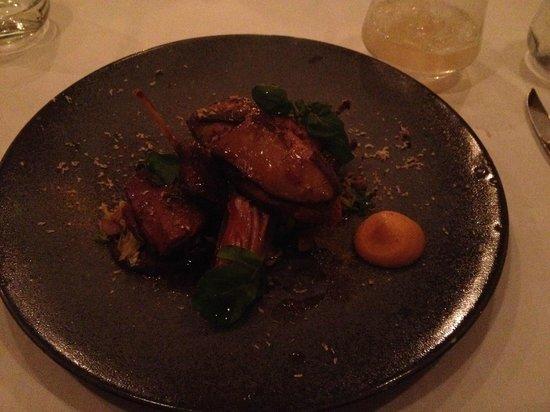 Corrigan's Mayfair : suckling pig appetizer