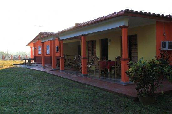 Villa El Habano: La Maison, notre Casa est au milieu