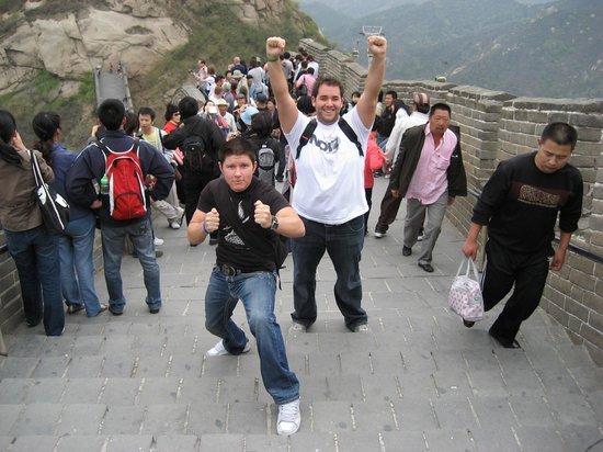 Gran Muralla China en Mutianyu: Wander World on The Great Wall of China