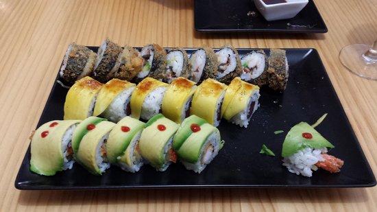 Sushi e : Wonderful!