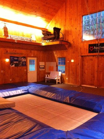 Mountain-Fare Inn Bed and Breakfast: The trampoline!