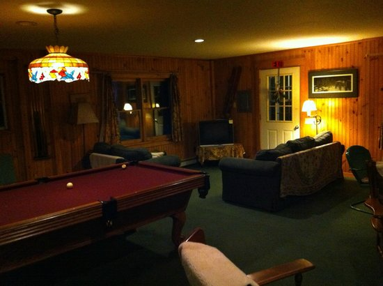 Mountain-Fare Inn Bed and Breakfast: The games room!