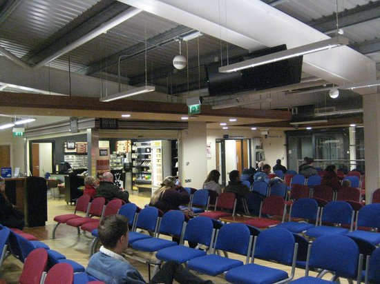 Stena Line Limited - Day Trips : Waiting area Belfast