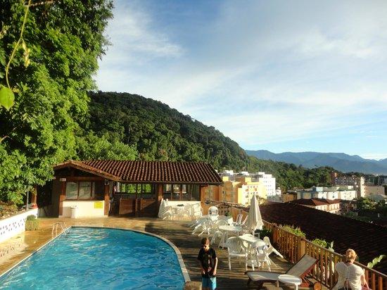 Hotel Coquille - Ubatuba: area piscina