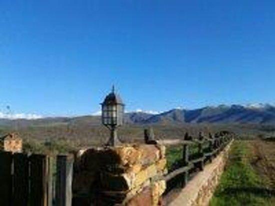 Molino de la Ferrería: camino al pueblo de villacorta a unos 2 km
