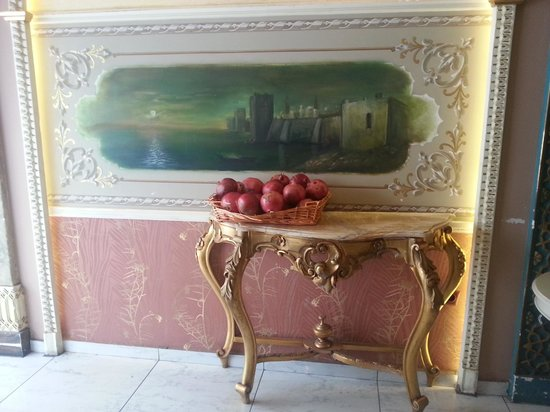 Hotel Carino: pomegranate juice