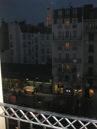 Hotel Le Walt: View of Paris