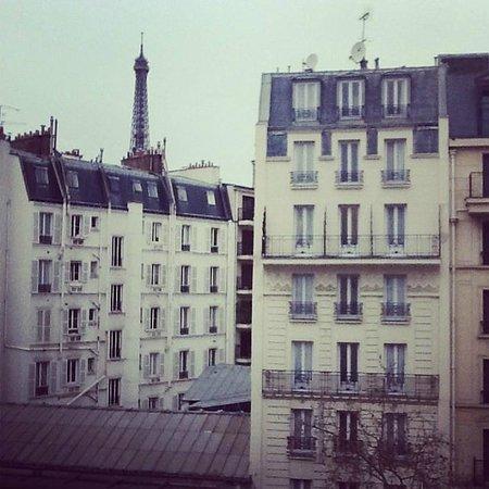 Hotel Le Walt: Daytime balcony view
