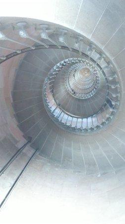 Phare des Baleines : Intérieur du phare