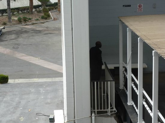 The Queen Mary: Employee smoking area