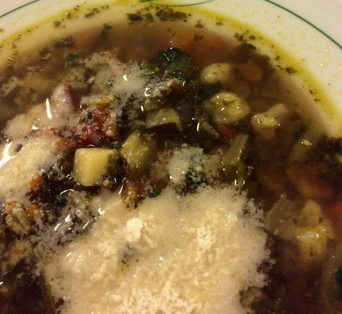 Diana: the most delicious vegetable soup i have never eaten.