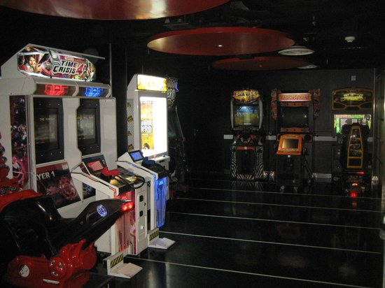 Stena Line Limited - Day Trips: Games room