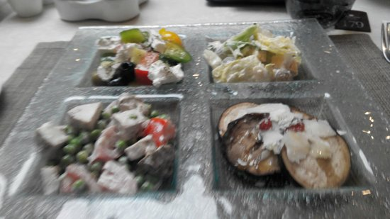 Opera Hotel: starter from the best business lunch in town