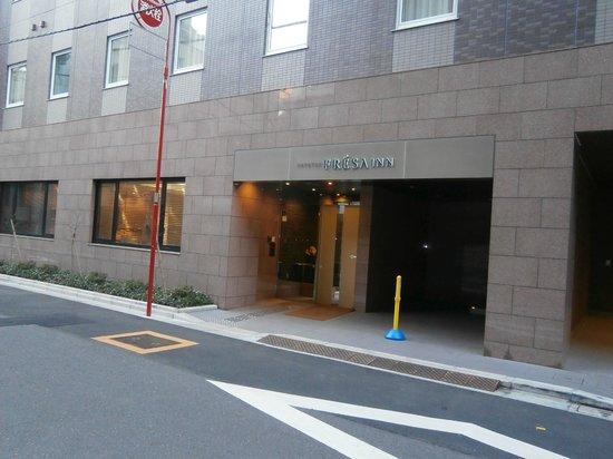 Sotetsu Fresa  Inn Nihombashi Ningyocho: ホテル正面入り口