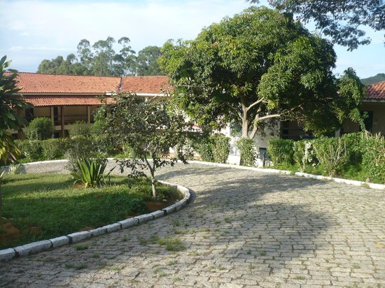 Hotel Porto da Bocaina: Chegada à recepção
