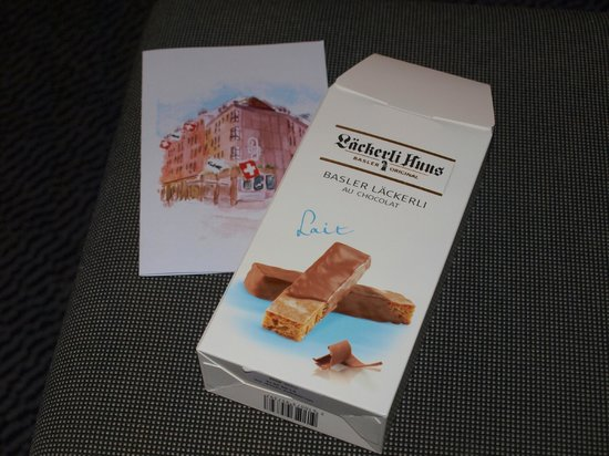 Hotel Basel: surprise birthday present