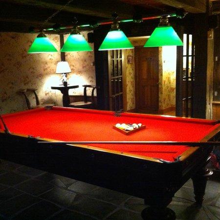 Nutmeg Inn: Game of pool?
