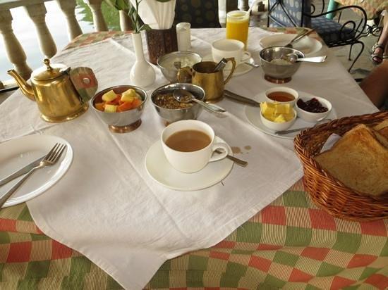 Amet Haveli: Breakfast