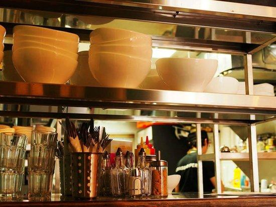 Grasshopper Restaurant: interior