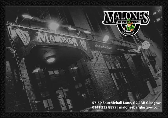 ‪Malone's Irish Bar Glasgow‬