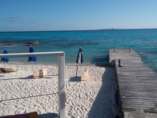Garrafon de Castilla: Beach area