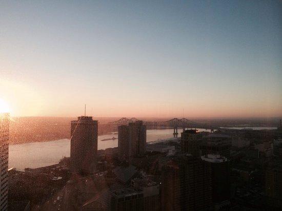 Sheraton New Orleans Hotel: Beautiful view!!!