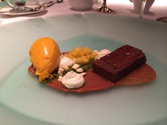 Hotel Holt: Dinner dessert