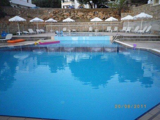 Nikitas Apartments : Immaculately clean pool.