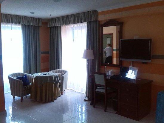 Plaza Colonial Hotel Campeche : Salotto