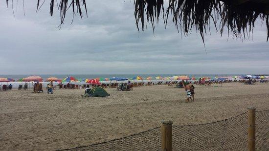 Hostal Kundalini: Vista de la playa