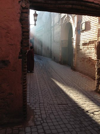 Riad Elizabeth: Early morning three minutes walk from the hotel