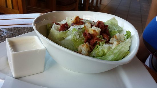 The SPA Retreat Boutique Hotel : Caesar Salad - VERY fresh!